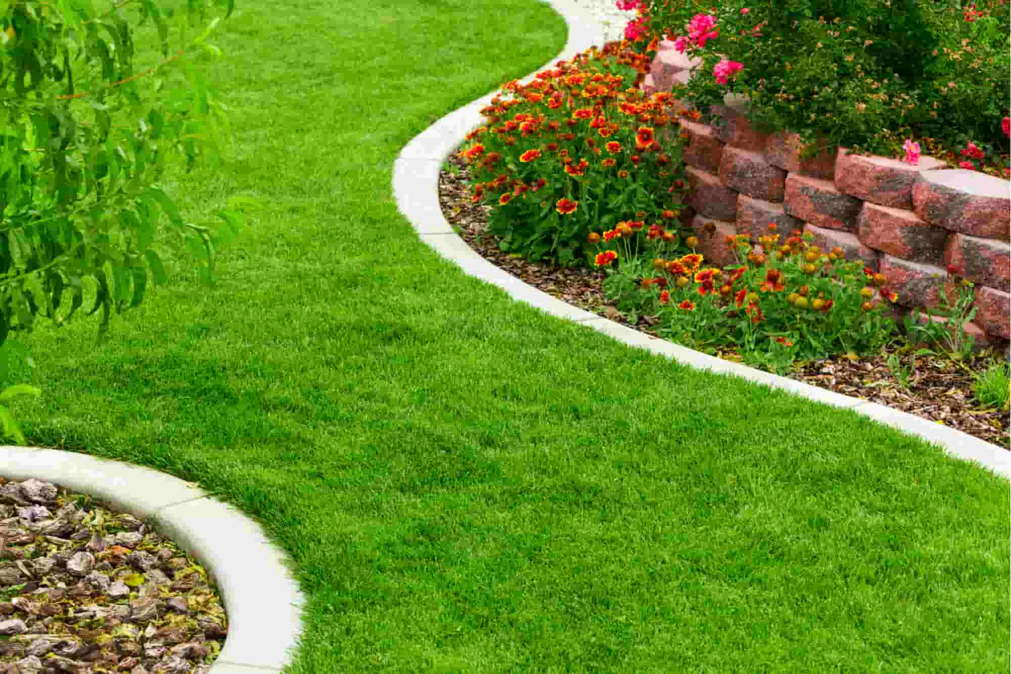 install landscape and garden edging