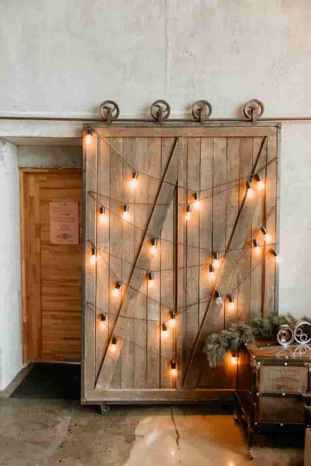 Cover Pantry or Closets with A Barn Door