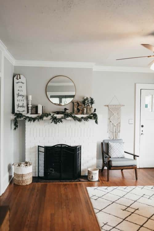 Start with A Facelift of the Fireplace
